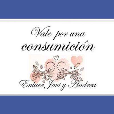 tickets de consumiciones para bodas
