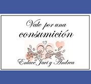 tickets para consumiciones de bodas